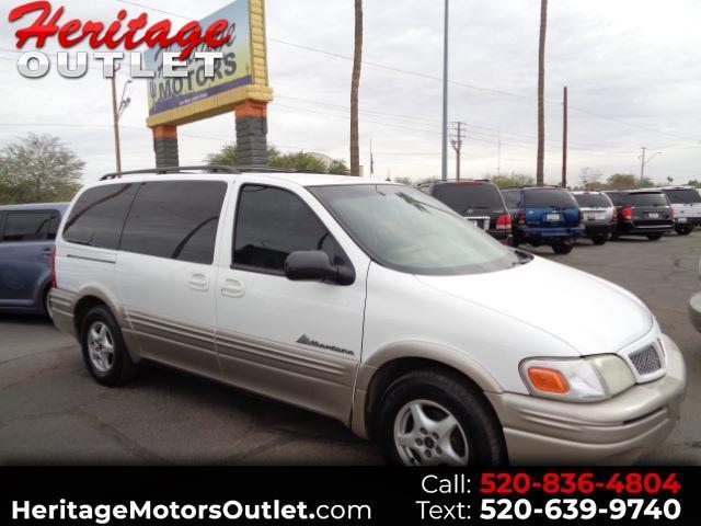 2001 Pontiac Montana Vision