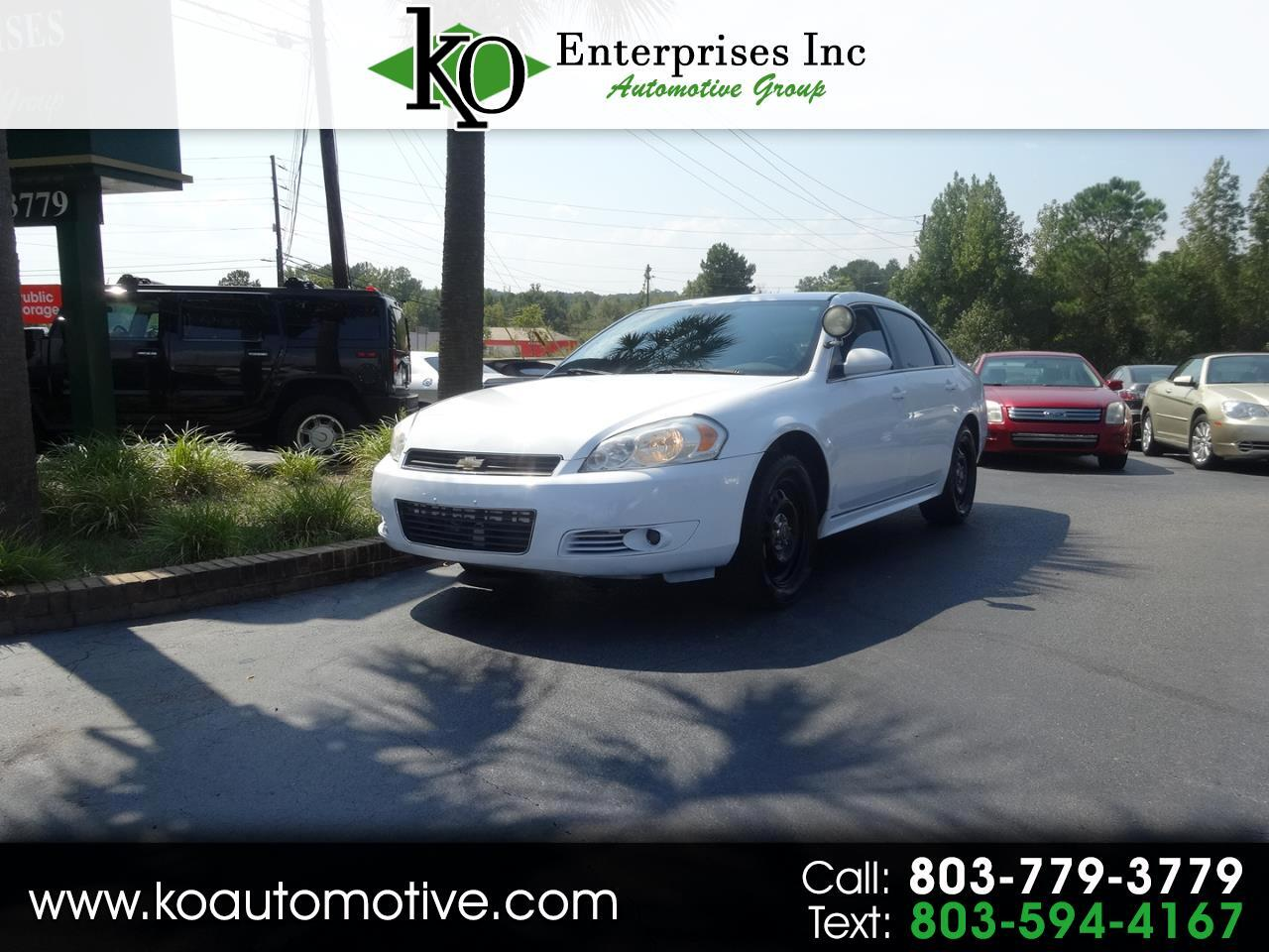 2014 Chevrolet Impala Limited 4dr Sdn Police