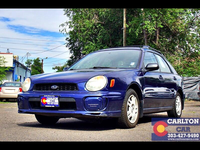 2003 Subaru Impreza 2.5 TS