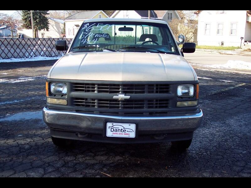 1994 Chevrolet C/K 1500 Reg. Cab W/T 8-ft. Bed 4WD