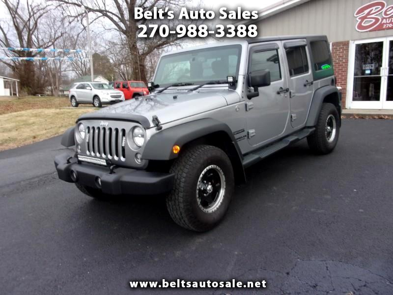 2015 Jeep Wrangler Unlimited Sport RHD