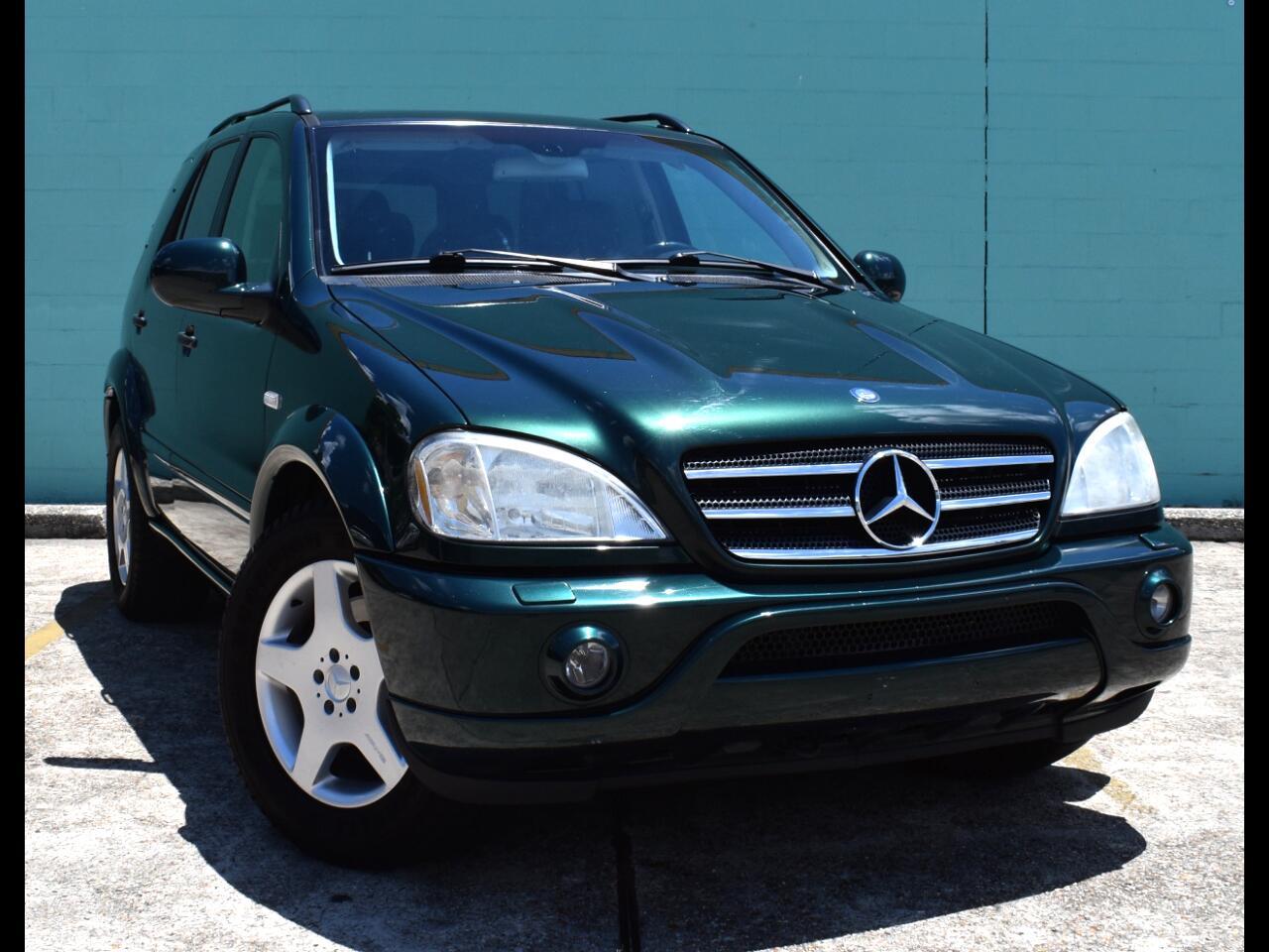 2001 Mercedes-Benz M-Class ML 55 AMG