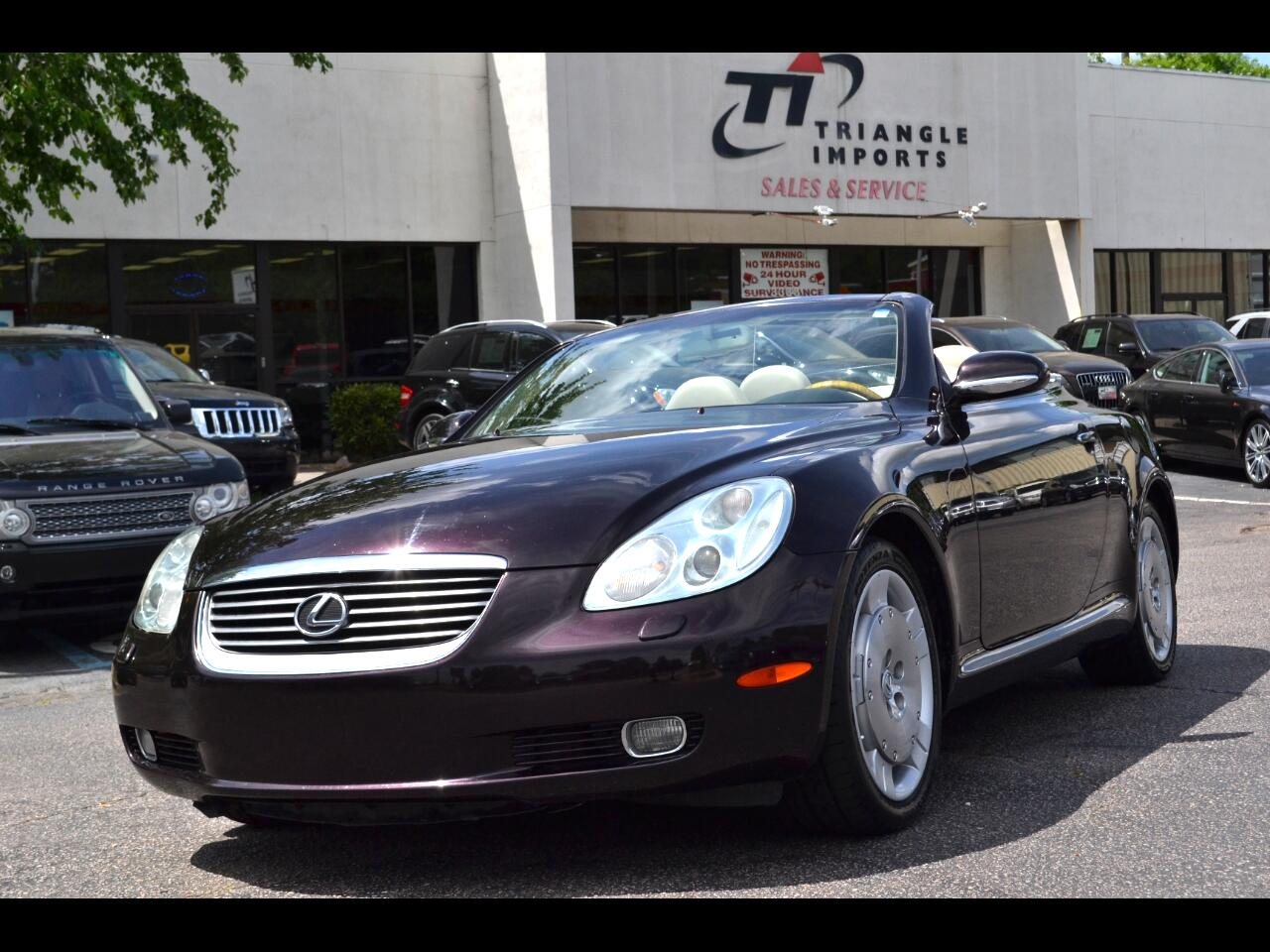 Used Lexus Sc 430 For Sale In Richmond Va 185 Cars From 5900