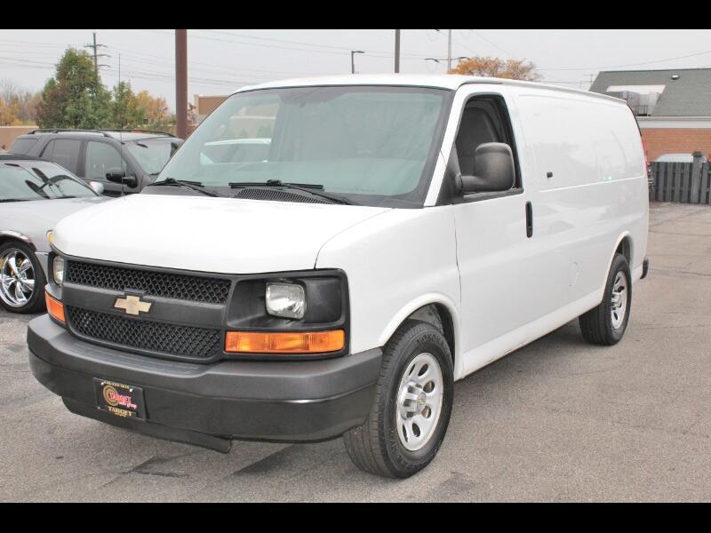 2011 Chevrolet Express Cargo Van 1500