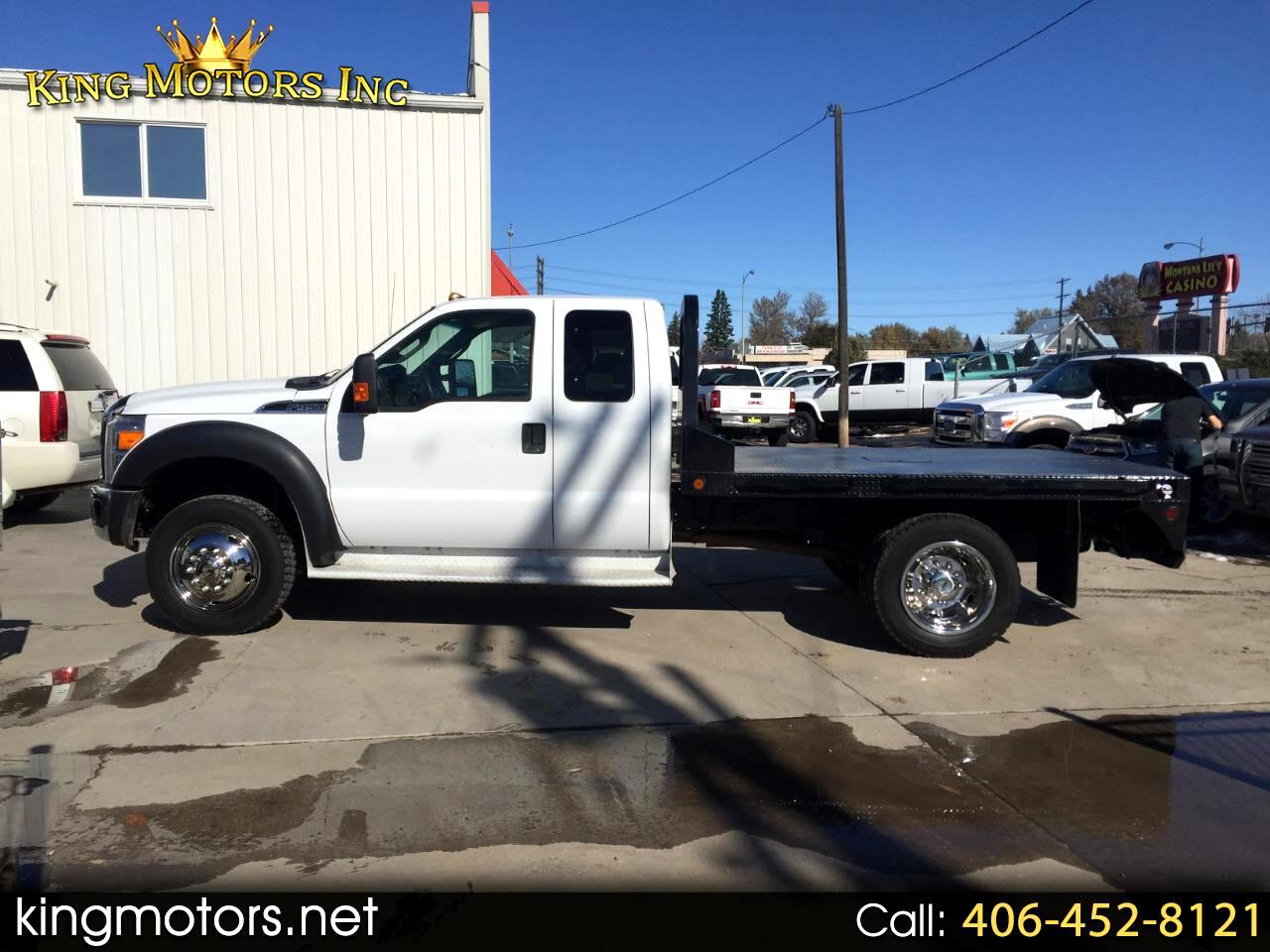 2013 Ford Super Duty F-450 4WD SuperCab 162