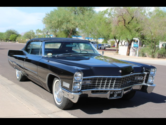 1967 Cadillac DeVille Coupe